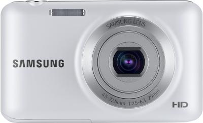 Компактный фотоаппарат Samsung ES95 White (EC-ES95ZZBPWRU) - вид спереди