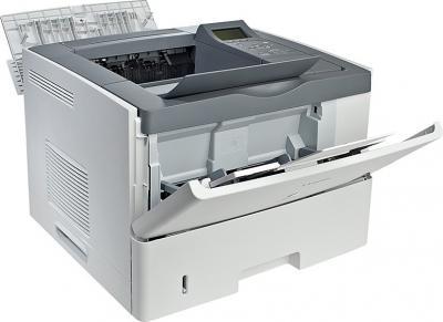 Принтер Canon I-SENSYS LBP6750DN - общий вид (открытые лотки)