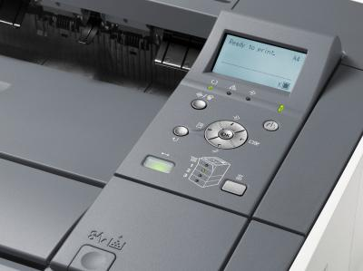 Принтер Canon I-SENSYS LBP6750DN - панель управления