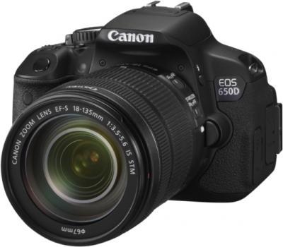 Зеркальный фотоаппарат Canon EOS 650D Kit 18-135mm IS STM - общий вид