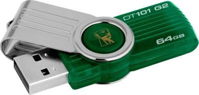 Usb flash накопитель Kingston DataTraveler 101 G2 64 Gb (DT101G2/64GB) - общий вид