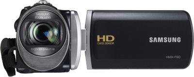 Видеокамера Samsung HMX-F90BP - вид спереди