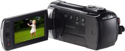 Видеокамера Samsung HMX-F90BP - дисплей