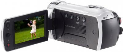 Видеокамера Samsung HMX-F90WP - дисплей