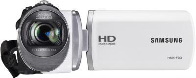 Видеокамера Samsung HMX-F90WP - вид спереди