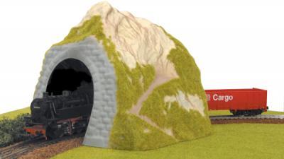 Элемент железной дороги Piko Тоннель однопутный (55720) - поезд в тоннеле