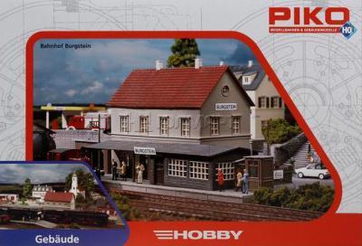 Элемент железной дороги Piko Вокзал Бургштайн (61820) - упаковка