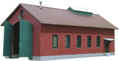 Элемент железной дороги Piko Депо локомотивное Бургштайн (61823) - общий вид
