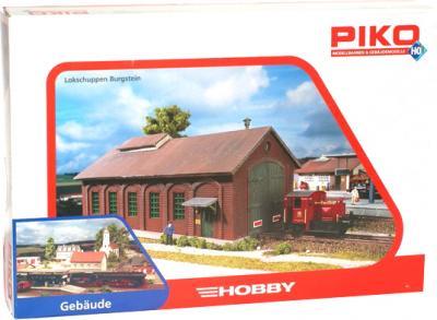 Элемент железной дороги Piko Депо локомотивное Бургштайн (61823) - упаковка