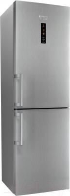 Холодильник с морозильником Hotpoint HF 8181 X O
