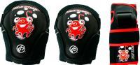 Комплект защиты Powerslide Standard Kids XS 900196 (красный) -