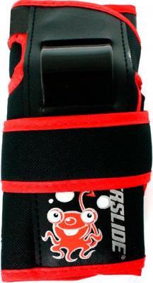 Комплект защиты Powerslide Standard Kids XS 900196 (красный) - защита запястья