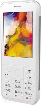 Мобильный телефон Vertex D502 (серебристый)