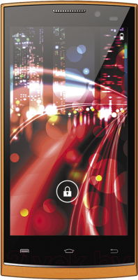 Смартфон Vertex Impress Drive (оранжевый)