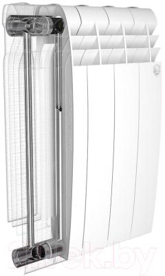 Радиатор биметаллический Royal Thermo BiLiner 500 (4 секции)