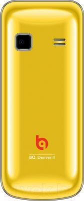 Мобильный телефон BQ Denver II BQM-2410 (желтый)