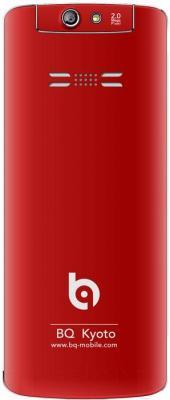 Мобильный телефон BQ Kyoto BQM-2802 (красный)