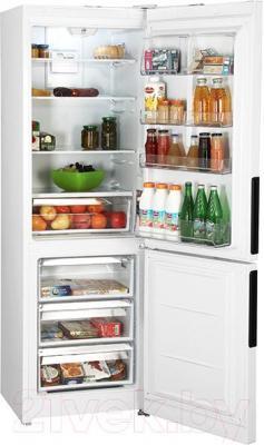 Холодильник с морозильником Hotpoint HF 5180 W