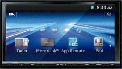 Автомагнитола Sony XAV-742 - общий вид