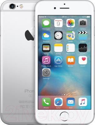 Смартфон Apple iPhone 6s Plus / MKU22RM/A (16Gb, серебристый)