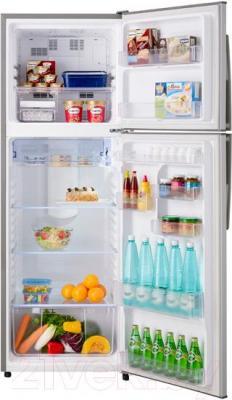 Холодильник с морозильником Sharp SJ-431VSL