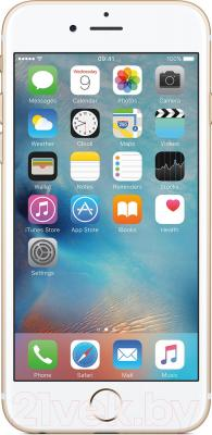 Смартфон Apple iPhone 6s / MKQL2RM/A (16GB, золотой)