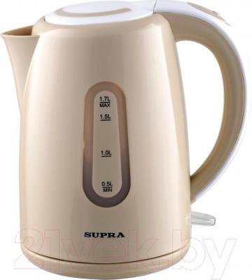 Электрочайник Supra KES-1720 (бежевый)