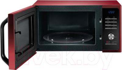 Микроволновая печь Samsung MS23F301TQR/BW - с открытой дверцей