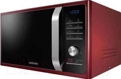 Микроволновая печь Samsung MS23F301TQR/BW - вид сбоку