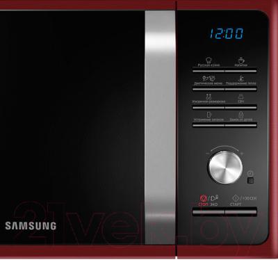 Микроволновая печь Samsung MS23F301TQR/BW - панель