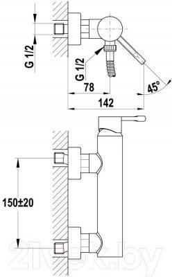 Смеситель Teka Spirit XL 22.231.02.00