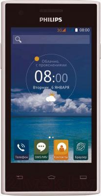 Смартфон Philips S309 (белый)