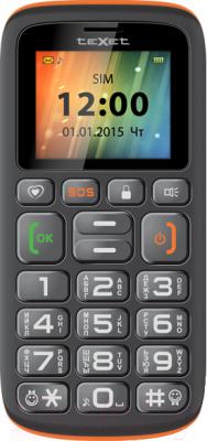 Мобильный телефон TeXet TM-B115 (черно-оранжевый)