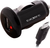 Автомобильное зарядное устройство TeXet PowerUno TPC-1002 (черный) -