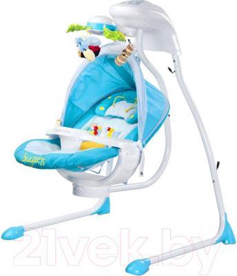 Качели для новорожденных Caretero Bugies (голубой)