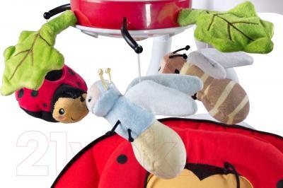 Качели для новорожденных Caretero Bugies (красный)