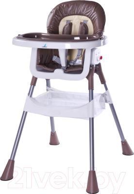 Стульчик для кормления Caretero Pop (коричневый)