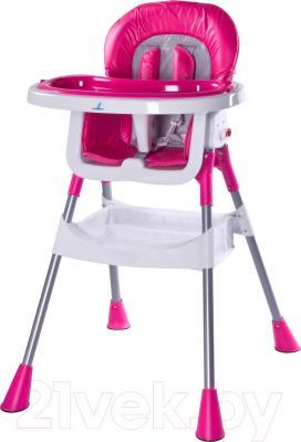 Стульчик для кормления Caretero Pop (пурпурный)