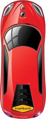 Мобильный телефон BQ Monza BQM-1401 (красный)
