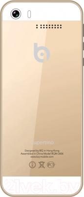Мобильный телефон BQ Cupertino BQM-2606 (золотой)