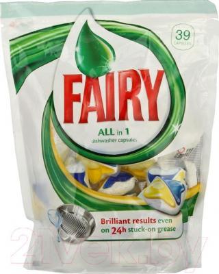 Капсулы для посудомоечных машин Fairy All-in-1 (39шт)