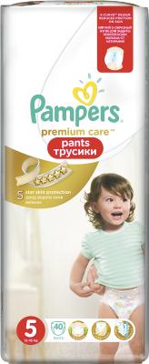 Подгузники-трусики Pampers Premium Care Pants 5 Junior (40шт)