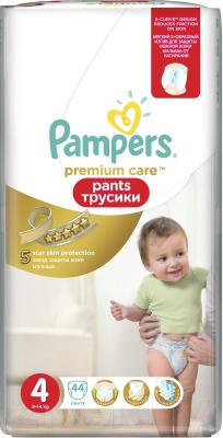 Подгузники-трусики Pampers Premium Care Pants 4 Maxi (44шт)