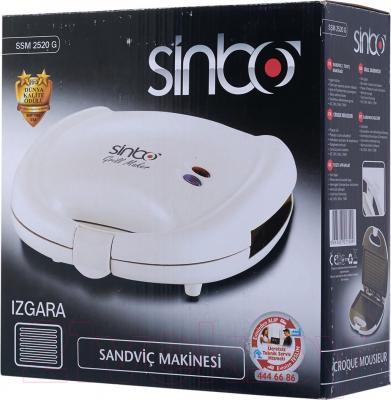 Сэндвичница Sinbo SSM 2520G (белый)