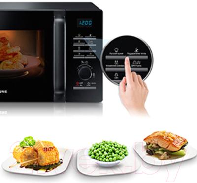 Микроволновая печь Samsung MG23F302TQK/BW - презентационное фото 1