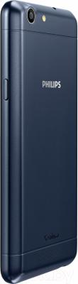 Смартфон Philips Xenium V526 (темно-синий)