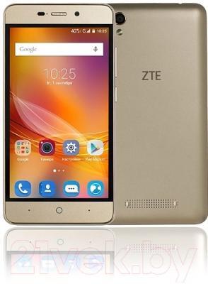 Смартфон ZTE Blade X3 (золото)