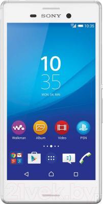 Смартфон Sony Xperia M4 Aqua Dual 4G / E2333 (белый)