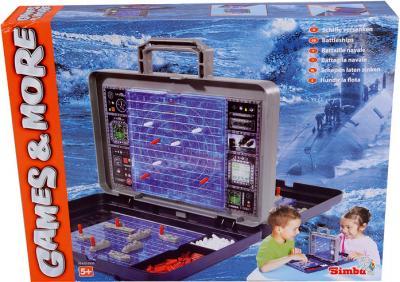 Настольная игра Simba Морской бой (6100335) - упаковка