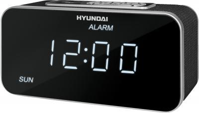 Радиочасы Hyundai H-1503U  (Silver) - общий вид